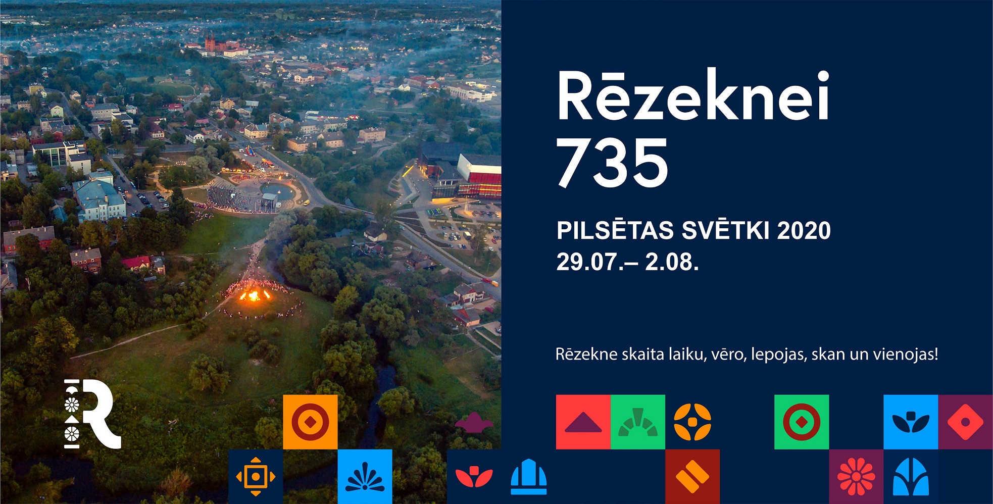 Rēzeknei 735! Pilsētas svētki un gaisa balonu festivāls 2020