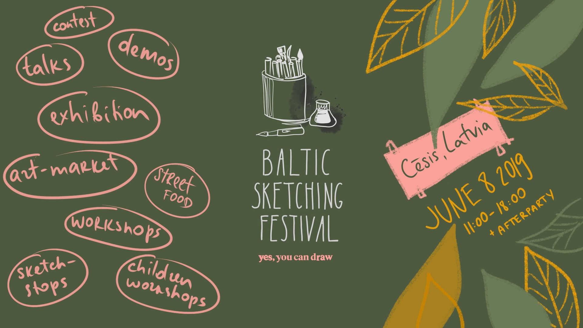 Baltic Sketching Festival 2019