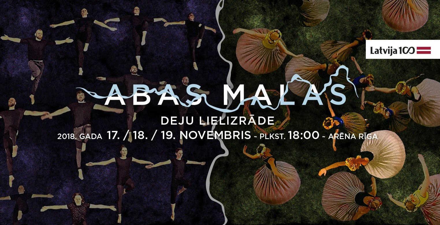 Multimediāla deju lielizrāde ABAS MALAS